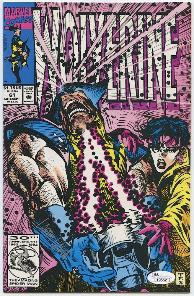 main_1-Larry-Hama-Signed-Wolverine-61-Comic-Book-JSA-COA-PristineAuction.com